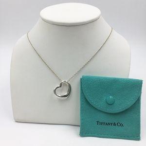💯Authentic Tiffany & Co. Elsa Peretti Open Heart